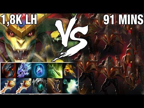 Subscriber Medusa VS Megacreeps 1,8K LH 91 MINS GAME COMEBACK IS REAL?