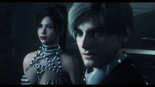 Resident Evil 2 Mod Gameplay Ada Wong Dark Stalker Succubus NEW Re-texture 4K (Ada Dark Stalker)