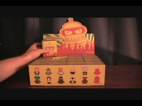 Futurama Kidrobot 3 Inch Vinyl Figure Blind Box Review