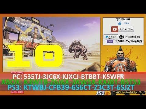 New SHiFT Code Alert: 10 Golden Keys SHiFT Code ... Borderlands 2 Golden Key Shift Codes