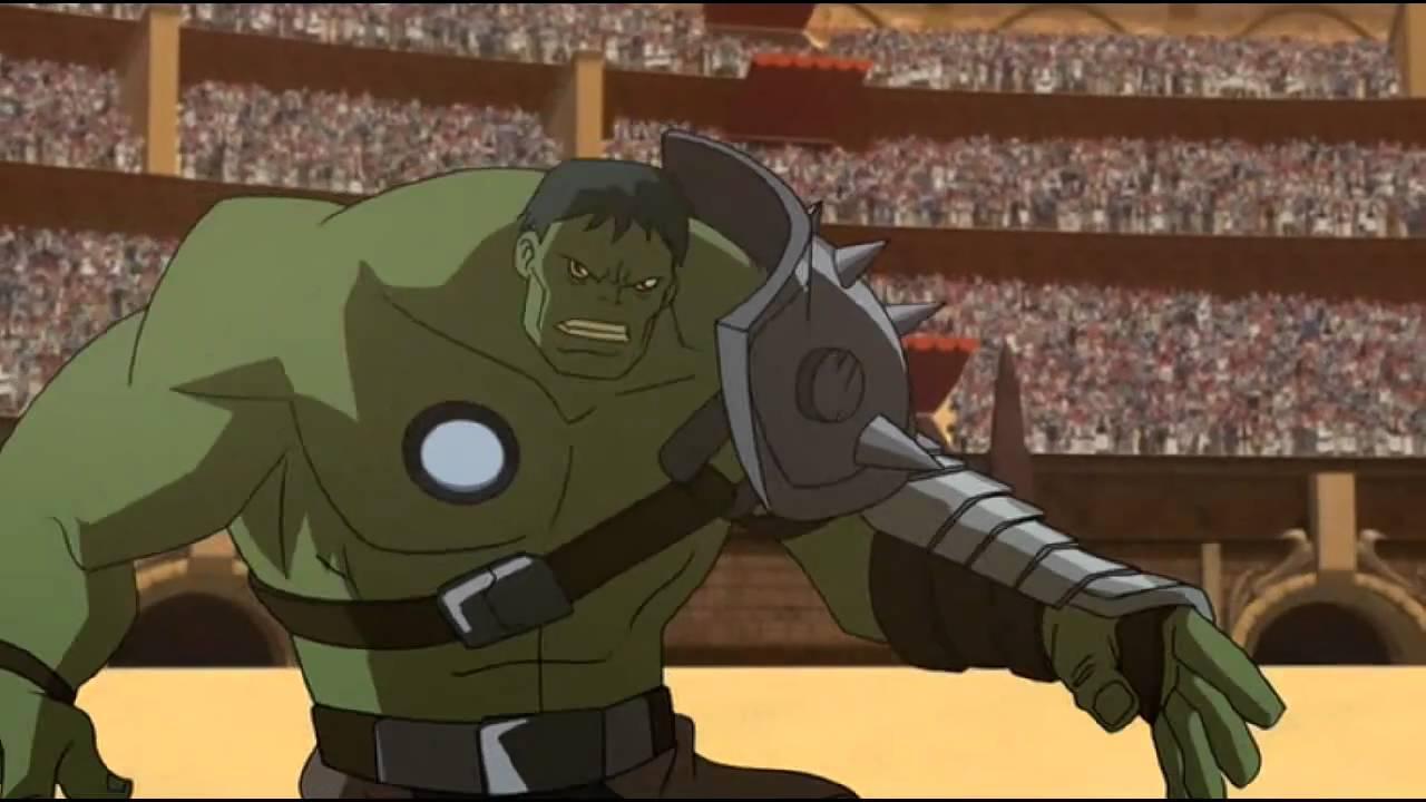 planet hulk gladiator fight youtube