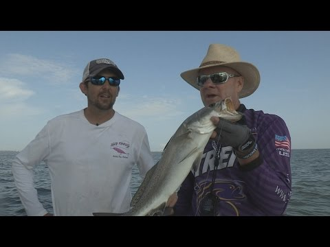SNEAK PEEK PREVIEW #25 - 2014 Mobile Bay, AL Oil Rig Speckled Trout