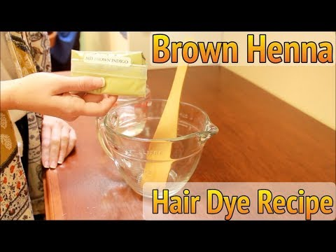 How to Make Perfect Brown Henna Paste for Hair for Beginners