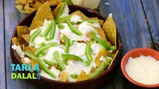 Nachos With Cheese By Tarla Dalal