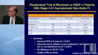 Debate: Optimal frontline therapy for follicular lymphoma: Start with chemotherapy? - No