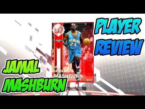 RUBY JAMAL MASHBURN PLAYER REVIEW!! HES FUNDAMENTAL! NBA 2k18 MYTEAM