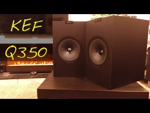 Z Review - KEF Q350 [Super Emo-Coaxial Monsters]