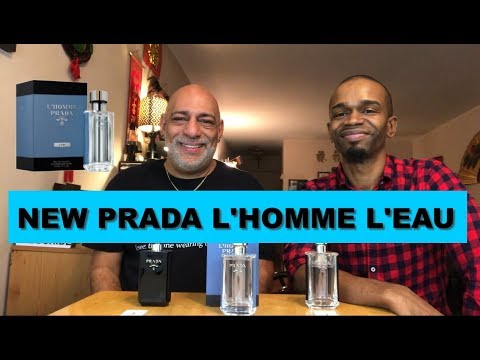 NEW Prada L'Homme L'Eau REVIEW with Simply Put Scents + GIVEAWAY (CLOSED)