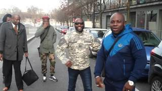 Les Combattants de Brazzaville ( les indignés 242 ) Paris ne tombera jamais inguetta