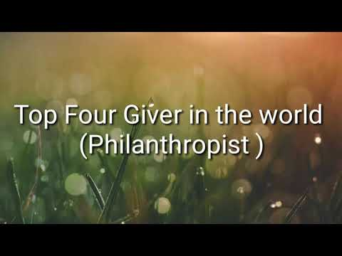 Givers of the World (Philanthropist)