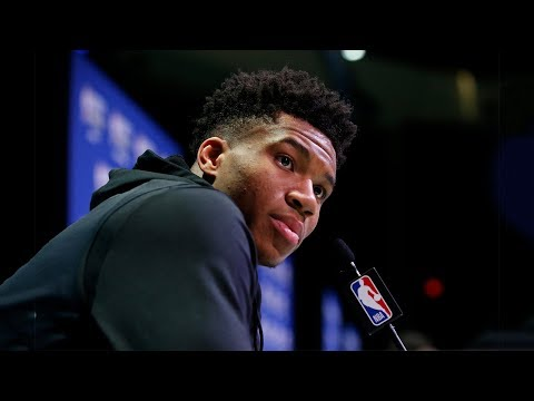 Giannis Antetokounmpo All-Star Media Availability