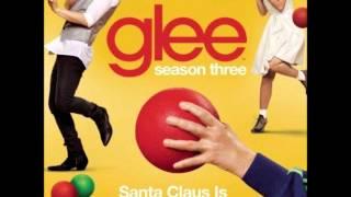 Glee - Santa Claus Is Coming To Town (DOWNLOAD MP3 + LYRICS)