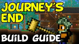 Terraria Journey's End Staŗting & Building Guide (PS4, Switch, XBox, PC, Mobile)