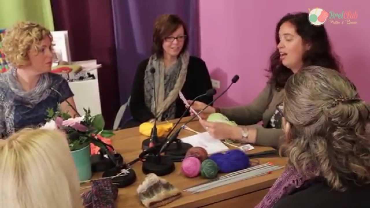 Mooie Rand Aan Breiwerk Door Breiclubnl Panel Youtube