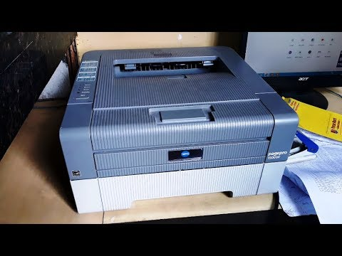How To Download & Install Konica Minolta Pagepro 1500w Printer Driver Configure It And Print Easily