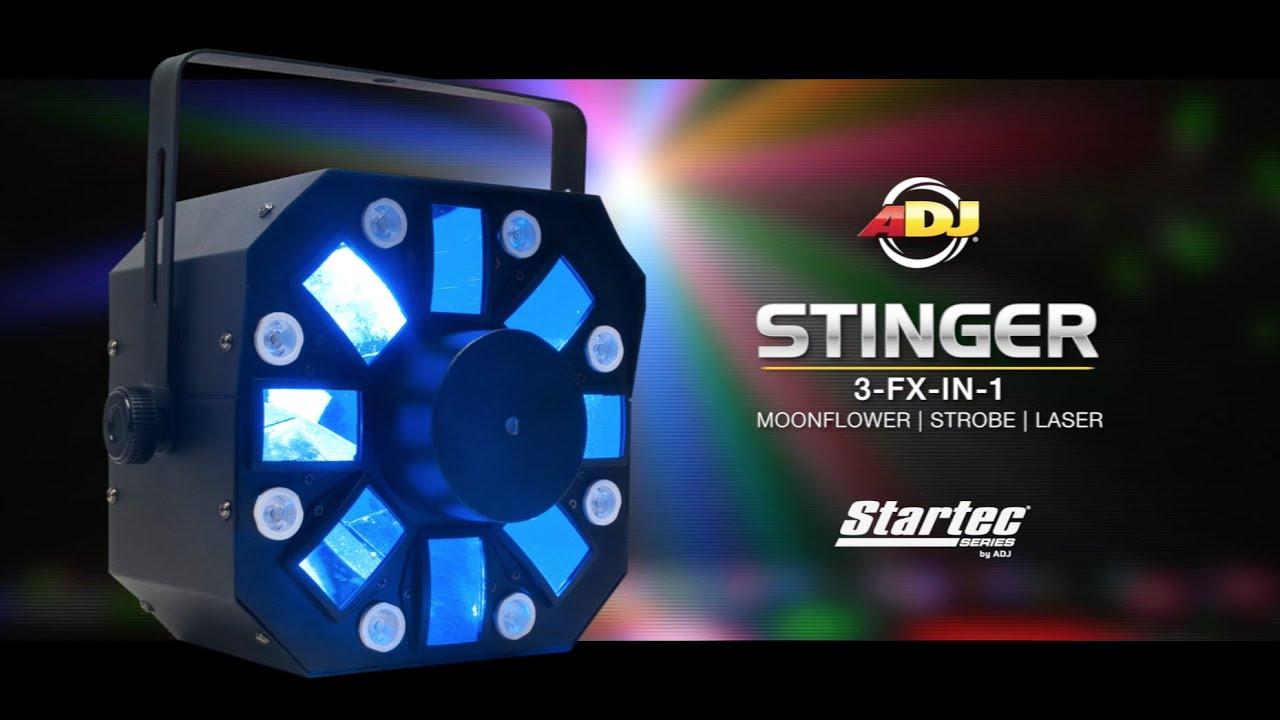 Stinger Moonflower, Strobe and Laser Effect