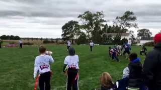 Lions Vs Bears October 3, 2015 NFL Flag Huntley IL