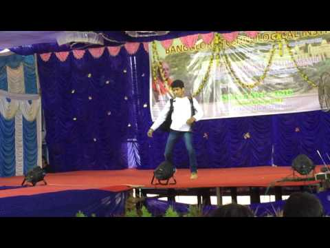 BTI (bangalore technological institute ) ( annual program dance performed by Yogesh )