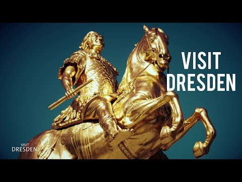 Visit DRESDEN  ▶ History and Today 4K (Part 1) Travel Touris