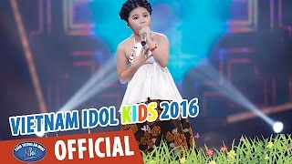 vietnam idol kids 2016 - gala 5 - non nuoc huu tinh - bao tran