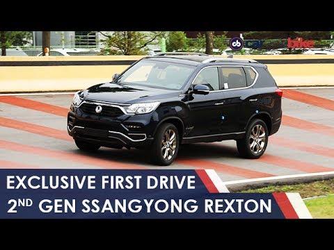 New SsangYong Rexton Review: Mahindras Next Big SUV For India   NDTV CarAndBike