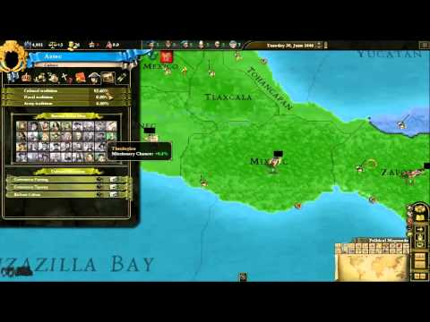 IUPlays Europa Universalis 3 Aztecs (Ep0011) First Government Tech