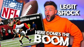 SOCCER FAN Reacts to BIGGEST HITS in NFL HISTORY | HERE COMES THE BOOM!!