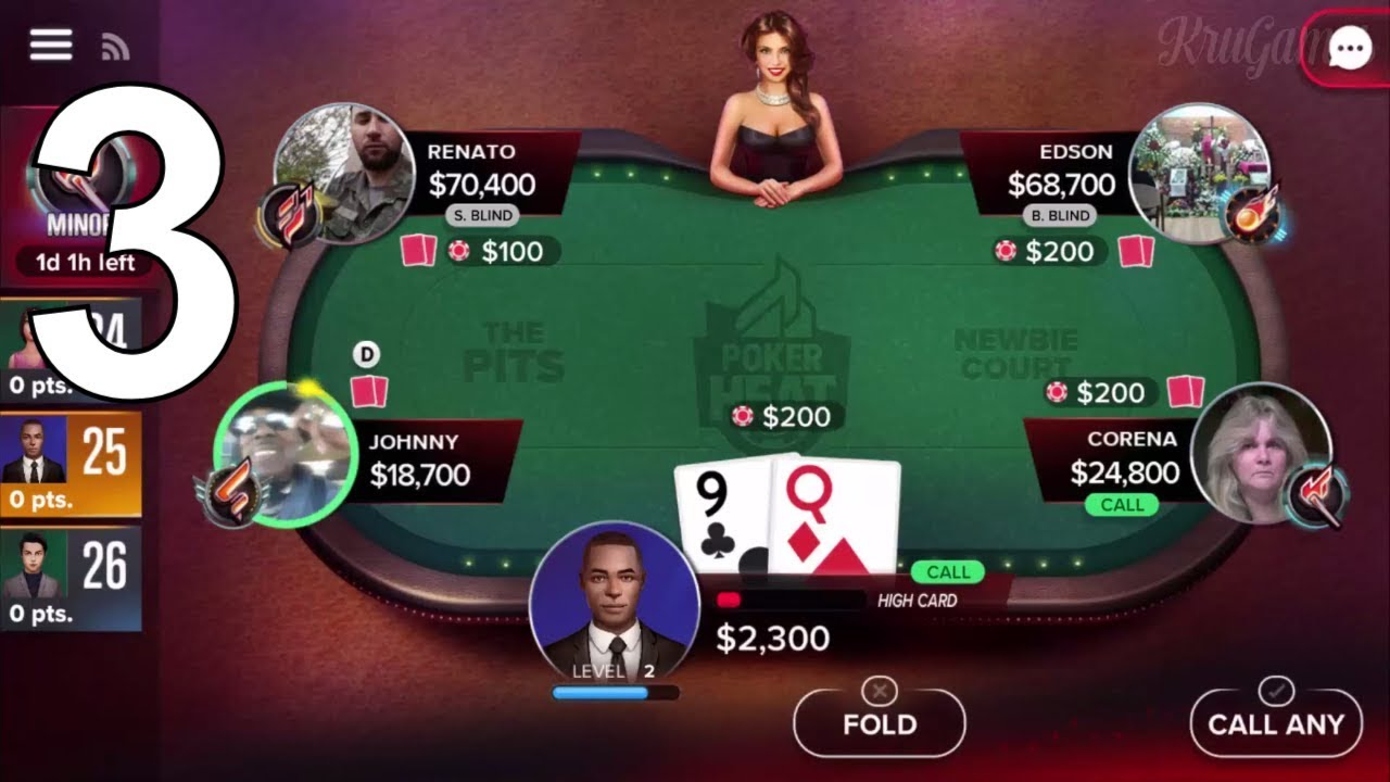how to play poker heat