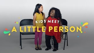 Kids Meet A Little Person | Kids Meet | HiHo Kids