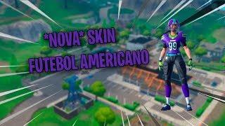 * NEW * SKIN OF AMERICAN FOOTBALL-Fortnite