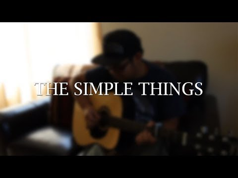 The Simple Things - Michael Carreon (Cover)