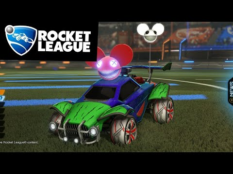 Rocket League | Playing Some Online Games With Split Screen |