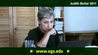 Judith Butler. Benjamin and Kafka. 2011