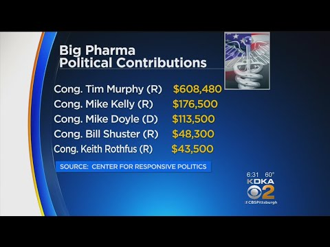 Big Pharma Donates Millions To Congress