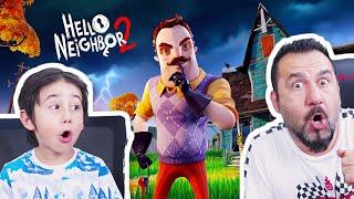 HELLO NEIGHBOR 2 (yeni oyun) GELİYOR! KAZIM USTA KARGA USTA MI OLDU? | HELLO NEIGHBOR 2 ALPHA