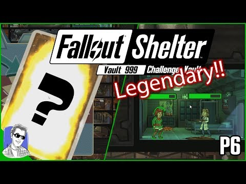 Fallout Shelter Vault 999 A New Legendary P6