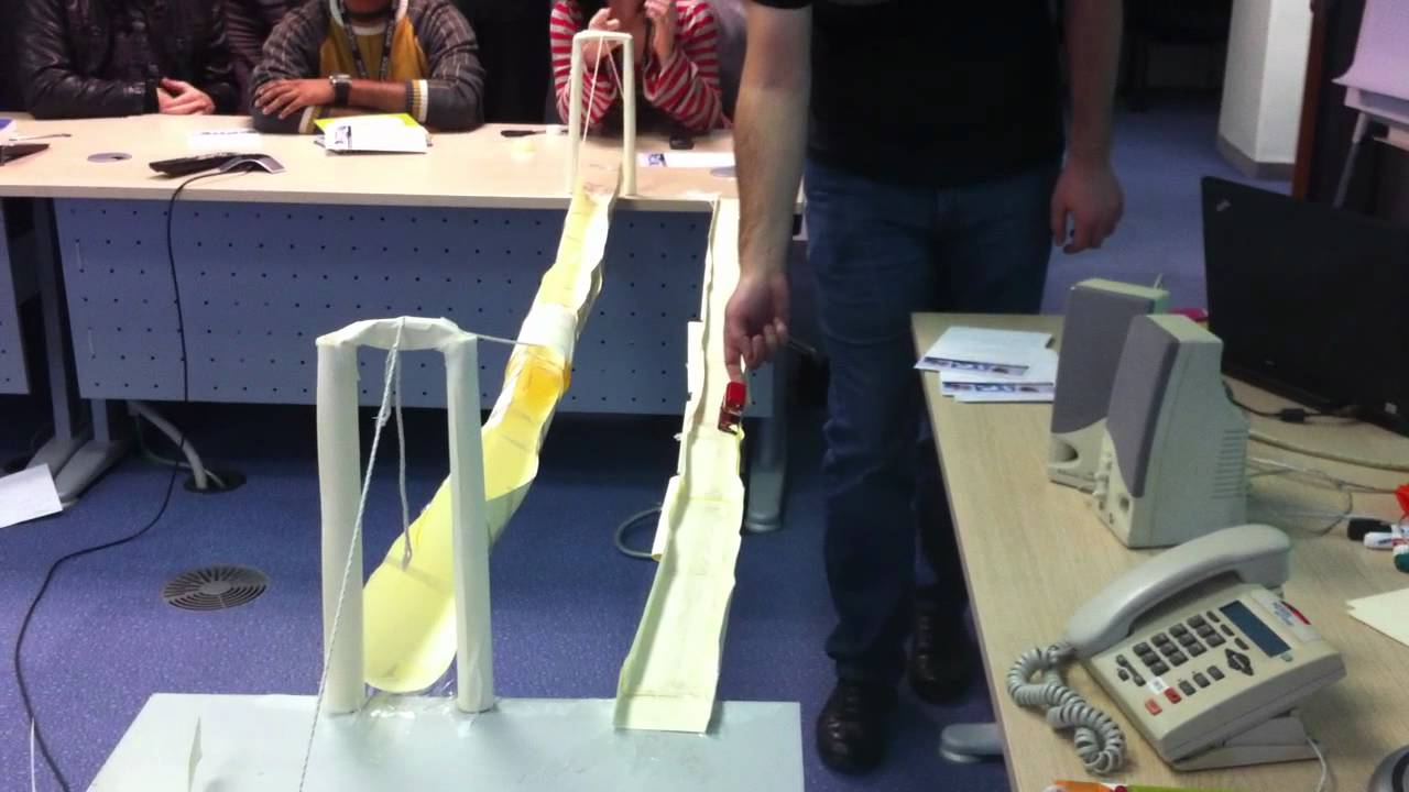 how to make a suspension bridge