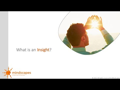 What is an Insight and how to reveal insights
