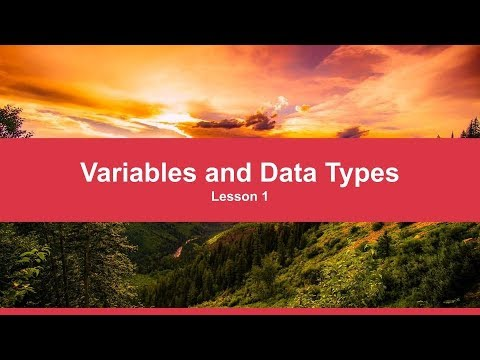 Variables and Data Types | Python Tutorial for Complete Beginners thumbnail
