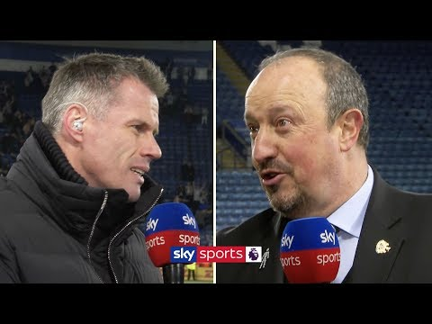 Jamie Carragher grills Rafael Benitez on his Newcastle United future | Friday Night Football