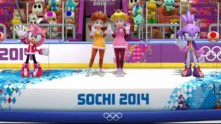 Mario and Sonic at the Sochi 2014 Olympic Winter Games: Ice Hockey #1