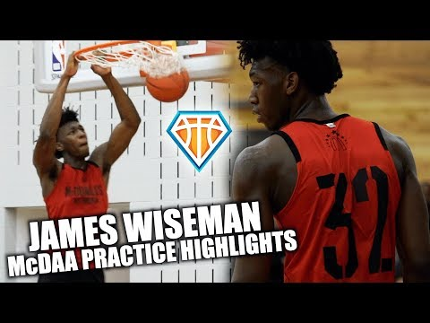 7'1 UNICORN James Wiseman is the #1 SENIOR in the Country!! | McDonald's All-American Highlights