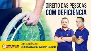 Estatuto da Pessoa com Deficiência | Prof. Carlinhos Costa e William Dornela