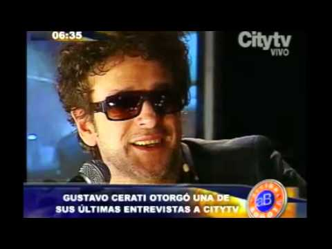 Arriba Bogotá: Gustavo Cerati en Citytv