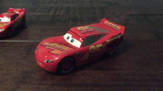Disney Store Cars 3 Rust-Eze Lightning McQueen Review