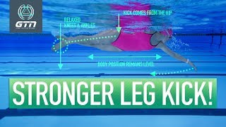 How To Do Freestyle Kick | Front Crawl Kick: Step By Step Swimming Guide screenshot 5