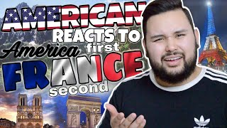 American REACTS // America First, France Second.