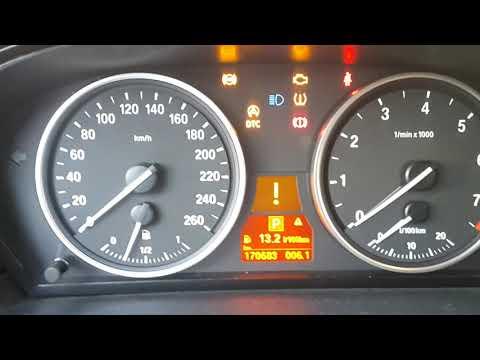 Холодный запуск BMW 5 E60 N52 2.5. Температура -31.