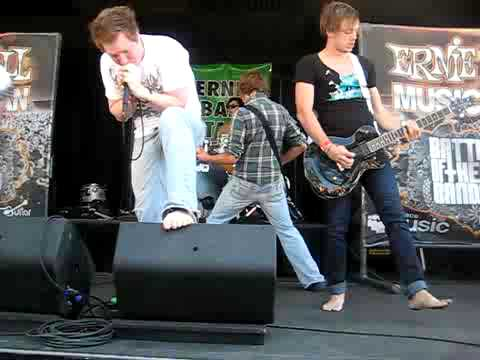 Versus The Ocean- Shadows Live at Warped Tour 2009 in Cleveland
