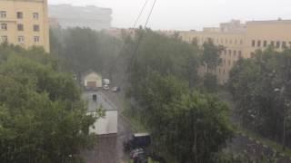 ураган в Москве 2016